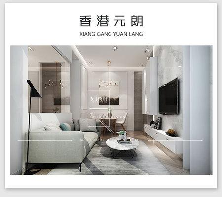 香港元朗北欧45平米装修效果图